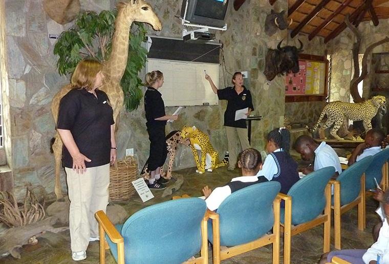 teaching community on endangered species